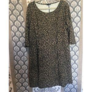 Cheetah baby doll dress (SC)